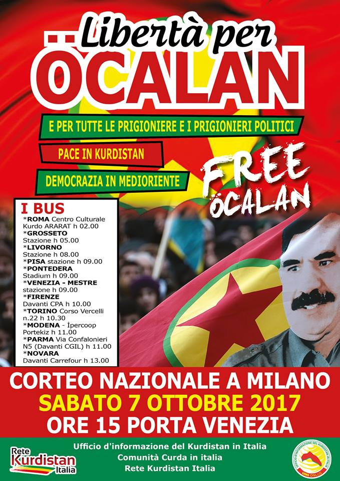 Rete Kurdistan Italia: manifestazione nazionale @ Porta Venezia   Milano   Lombardia   Italia