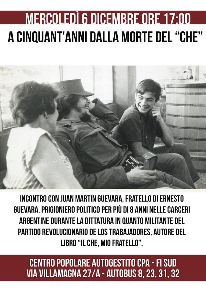 Juan Martin Guevara, fratello del Che, al CPA @ CPA | Firenze | Toscana | Italia
