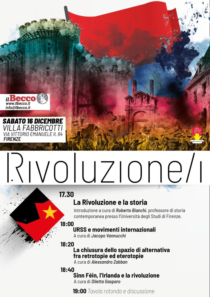 Rivoluzione/i @ Villa Fabbricotti | Firenze | Toscana | Italia