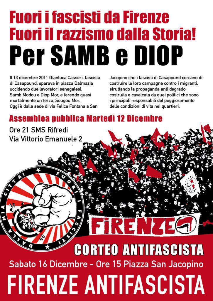 Per Samb e Diop - Assemblea @ SMS Rifredi | Firenze | Toscana | Italia