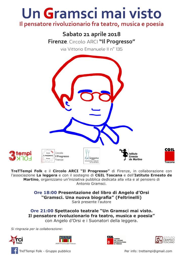 Un Gramsci mai visto @ Il Progresso   Firenze   Toscana   Italia