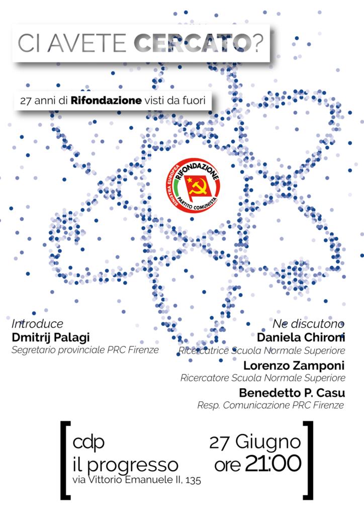 Ci avete cercato? @ Casa del Popolo Il Progresso | Firenze | Toscana | Italia