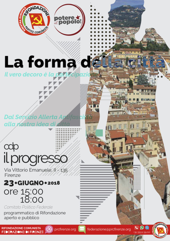 La forma della città @ Casa del Popolo Il Progresso | Firenze | Toscana | Italia