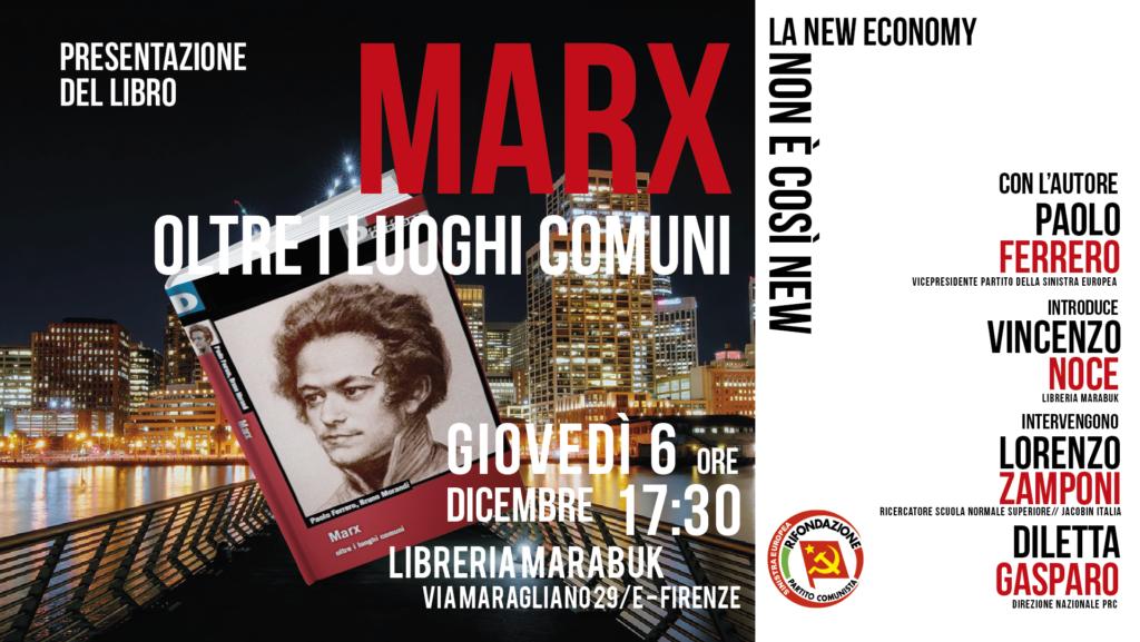 Marx - Oltre i luoghi comuni @ Libreria Marabuk   Firenze   Toscana   Italia