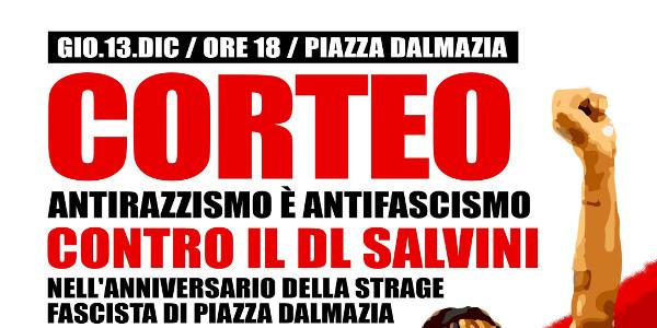 In piazza il 13 dicembre, per ricordare Samb e Diop, contro il razzismo e il fascismo @ Piazza Dalmazia (Firenze)