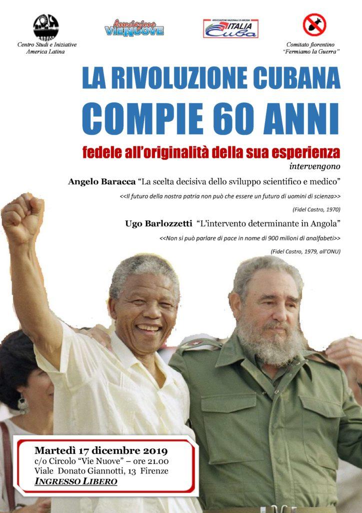 La Rivoluzione cubana compie 60 anni @ Circolo Vie Nuove
