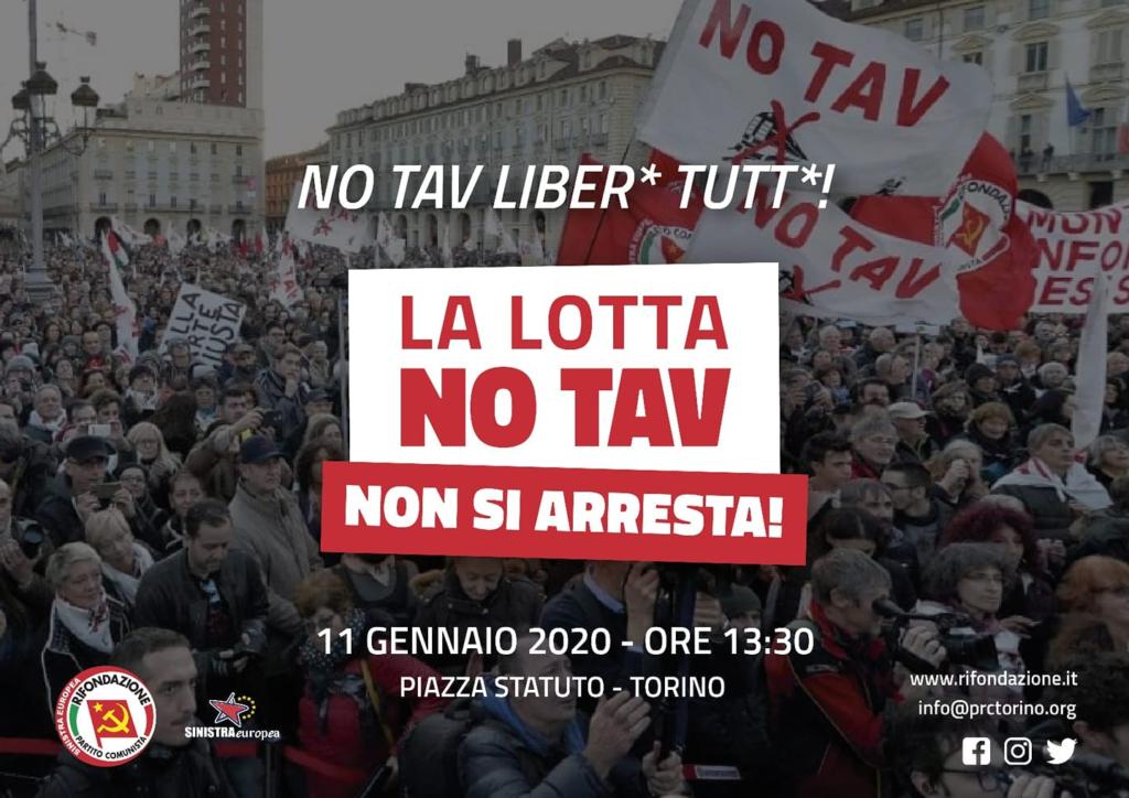 La lotta No Tav non si arresta @ Piazza Adriano (Torino)