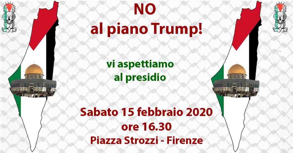 Presidio per dire NO al piano Trump in Palestina @ Piazza Strozzi